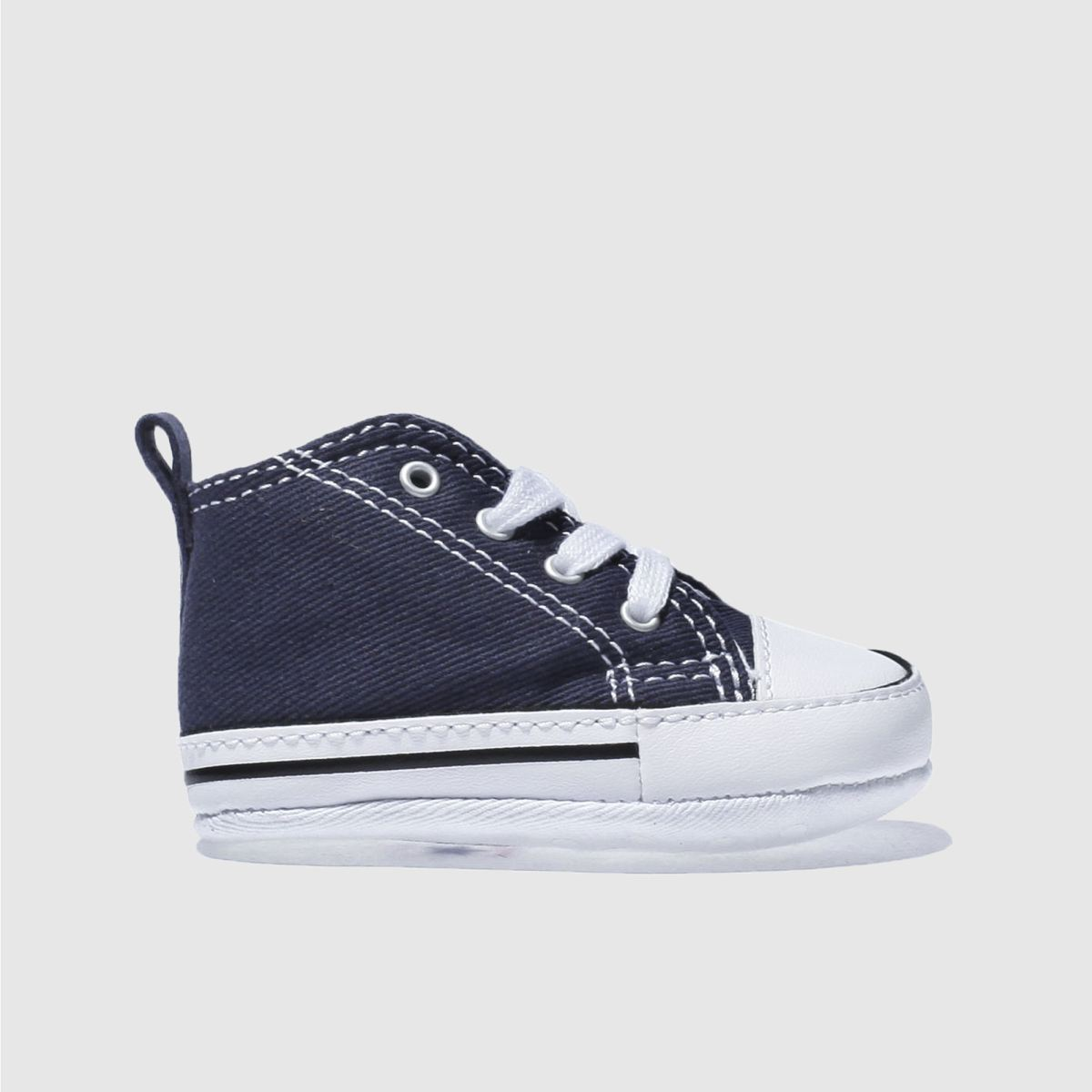 converse navy 1st star ii crib Boys Baby Trainers