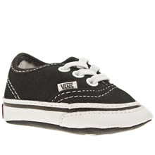 Crib Black Vans Authentic