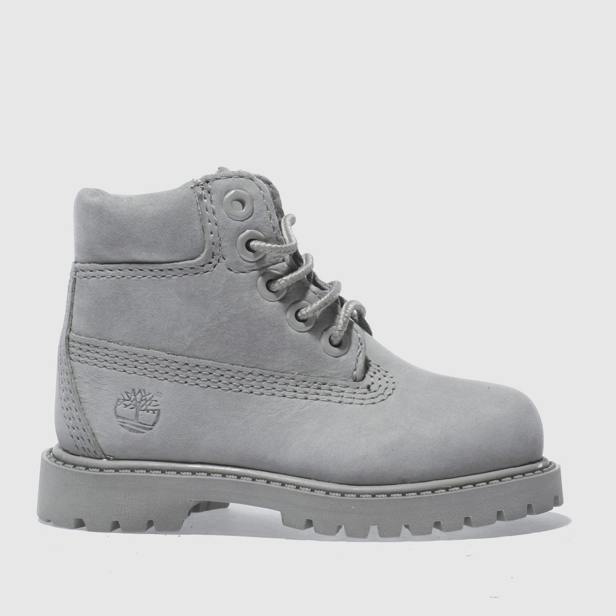 timberland grey 6 inch premium Toddler Boots
