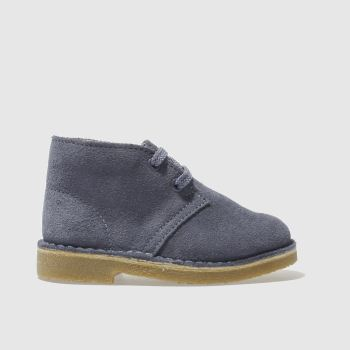 Clarks Originals Blue Desert Boot Fst Unisex Toddler