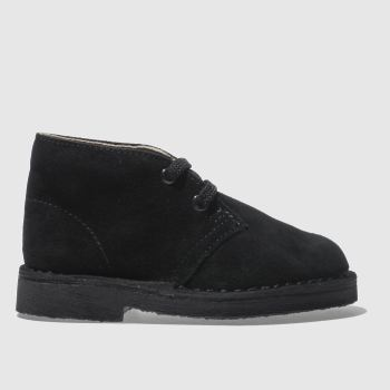 Clarks Originals Black Desert Boot Fst Unisex Toddler