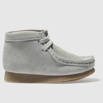 Clarks Originals Grey Wallabee Boot Fst Unisex Toddler