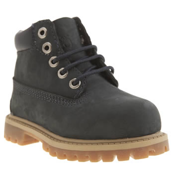 Timberland Navy 6 Inch Classic Unisex Toddler