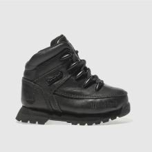 Timberland Black Euro Sprint Unisex Toddler
