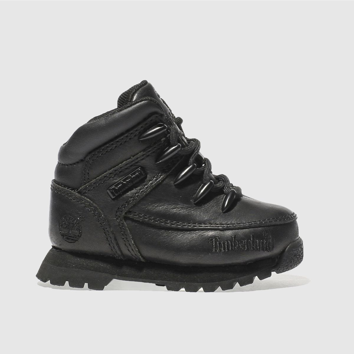 timberland black euro sprint Toddler Boots