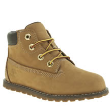 Timberland Natural Pokey Pine 6 Inch Unisex Toddler
