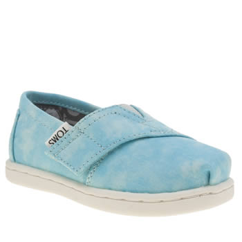 Toms Pale Blue Seasonal Classic Unisex Toddler