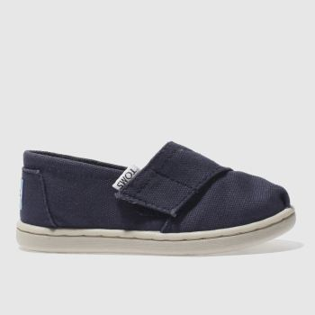 Toms Navy Classic Unisex Toddler