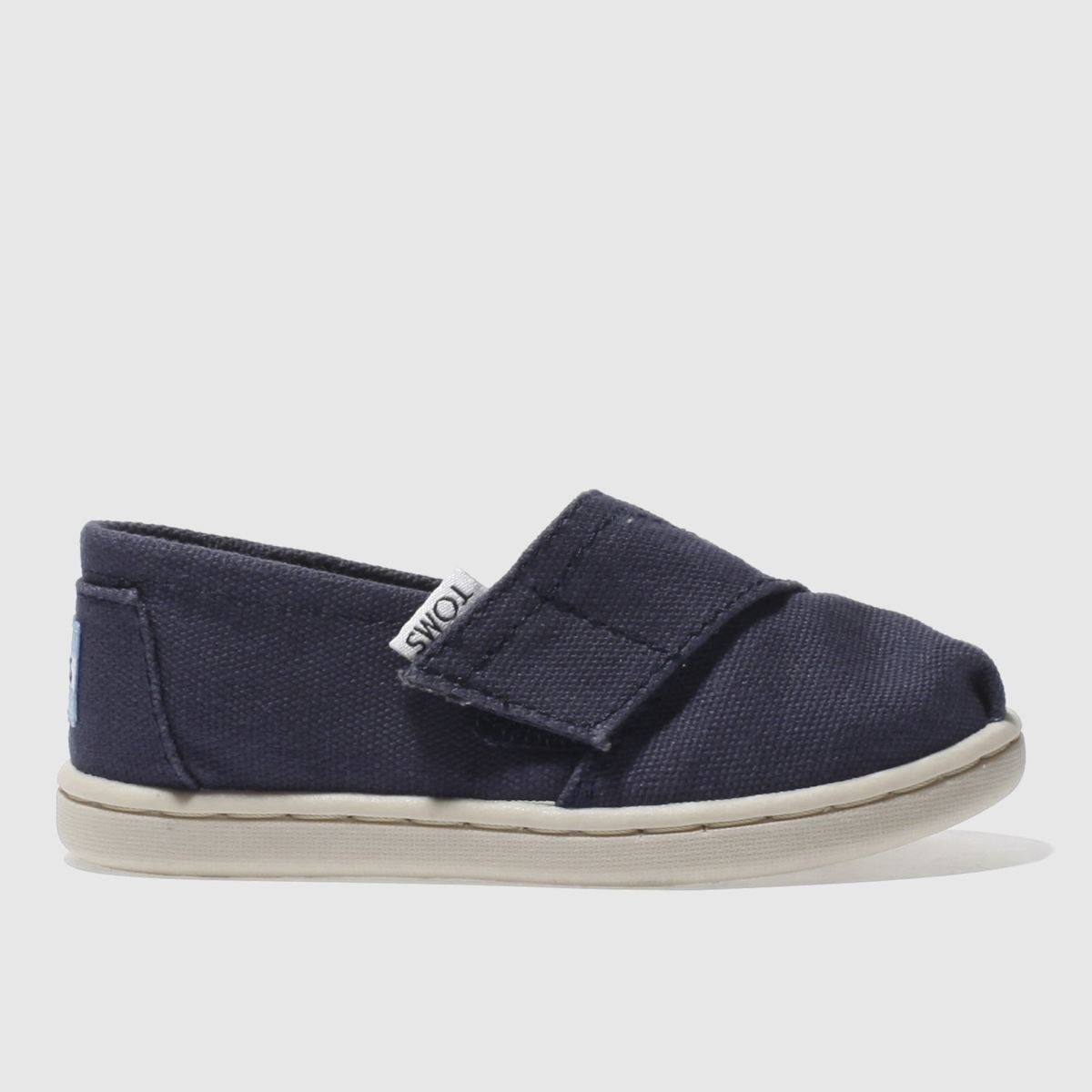 toms navy classic Boys Toddler Shoes
