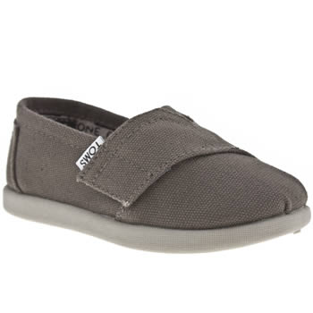 Toms Grey Classic Unisex Toddler