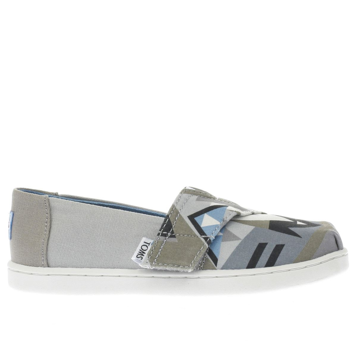 toms grey classic Toddler Shoes