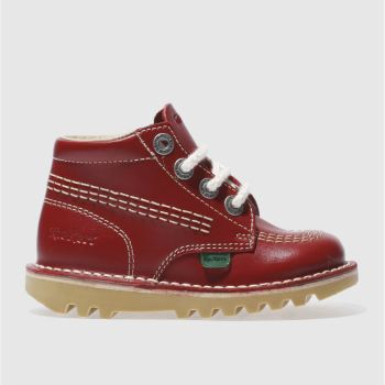 Kickers Red Kick Hi Unisex Toddler