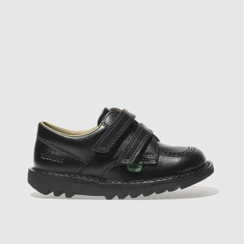 Unisex Kickers Black Kick Lo Unisex Toddler
