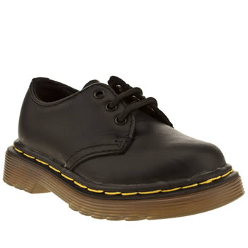 Dr Martens Black Colby Lace Shoe Unisex Toddler