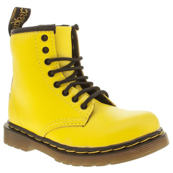 Dr Martens Yellow Brooklee Unisex Toddler