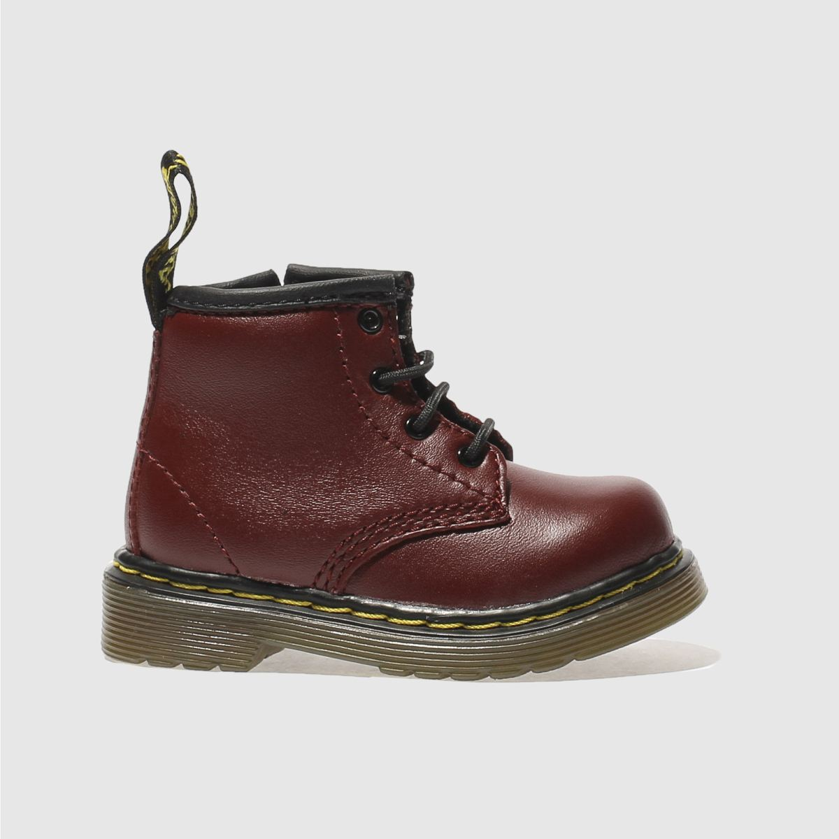 dr martens red brooklee boot Boys Toddler Boots