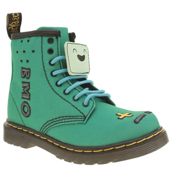 Dr Martens Green Castle Adventure Time Bmo Unisex Toddler