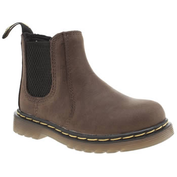 Dr Martens Dark Brown Shenzi Chelsea Unisex Toddler