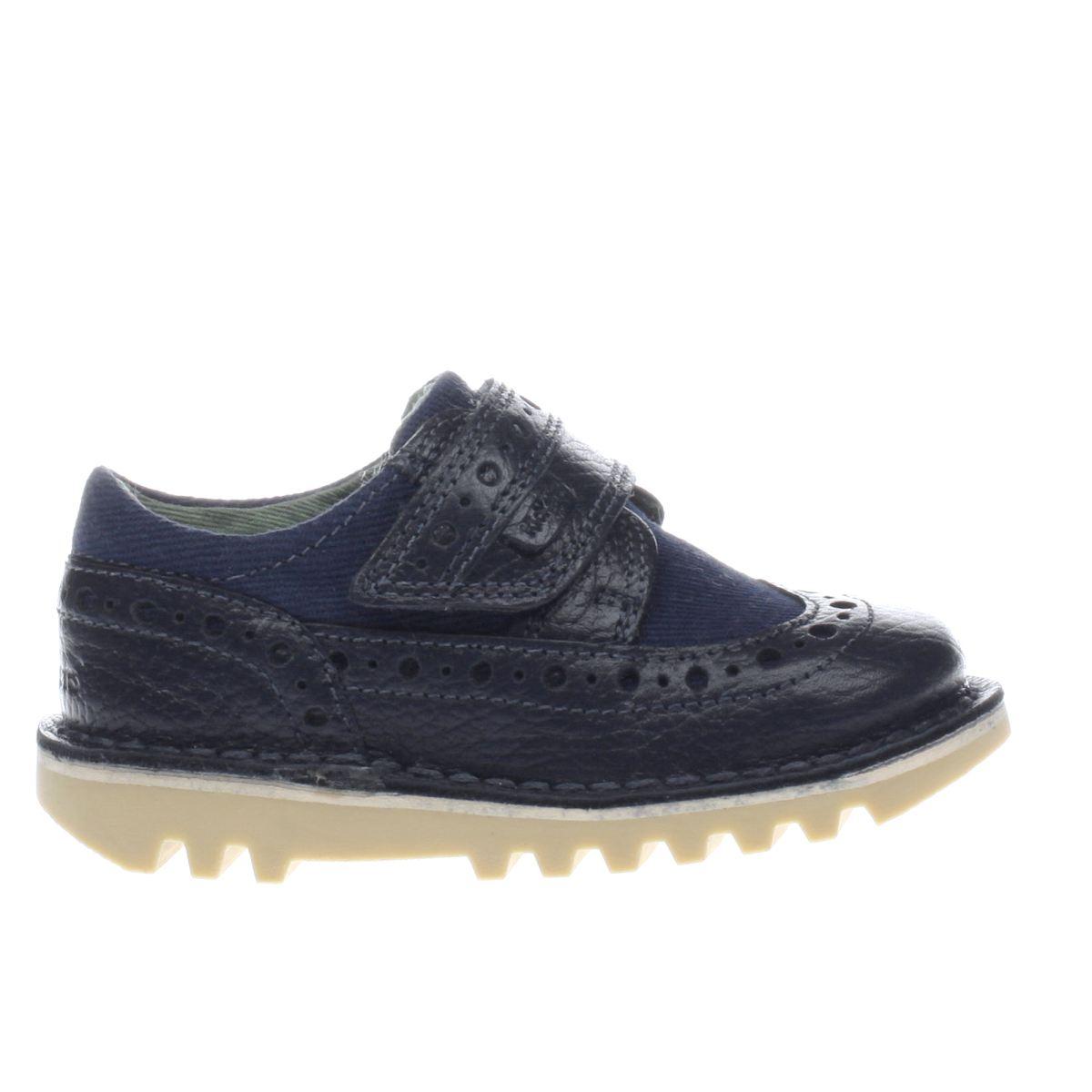 Black kicker sandals - Kickers Navy Longwing Unisex Toddler