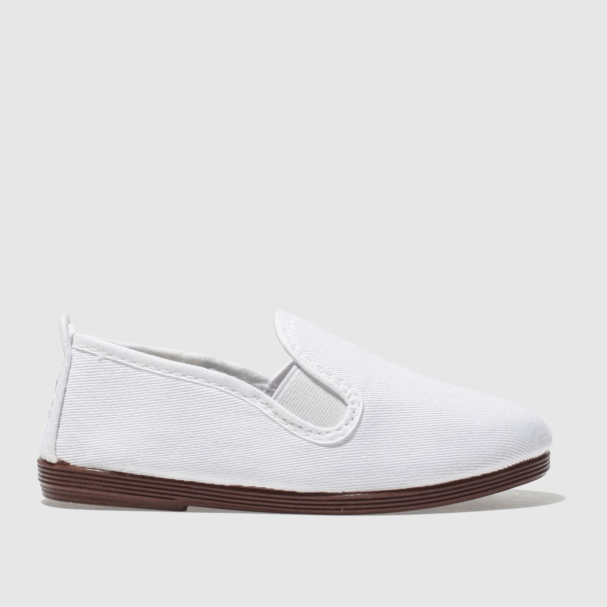 Flossy Flossy White Pamplona Toddler Shoes