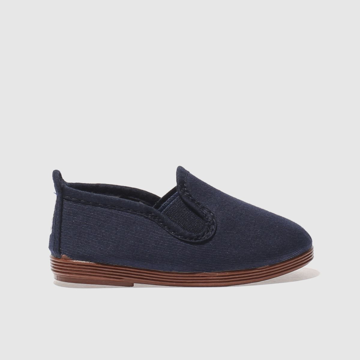 Flossy Flossy Navy Pamplona Boys Toddler Shoes