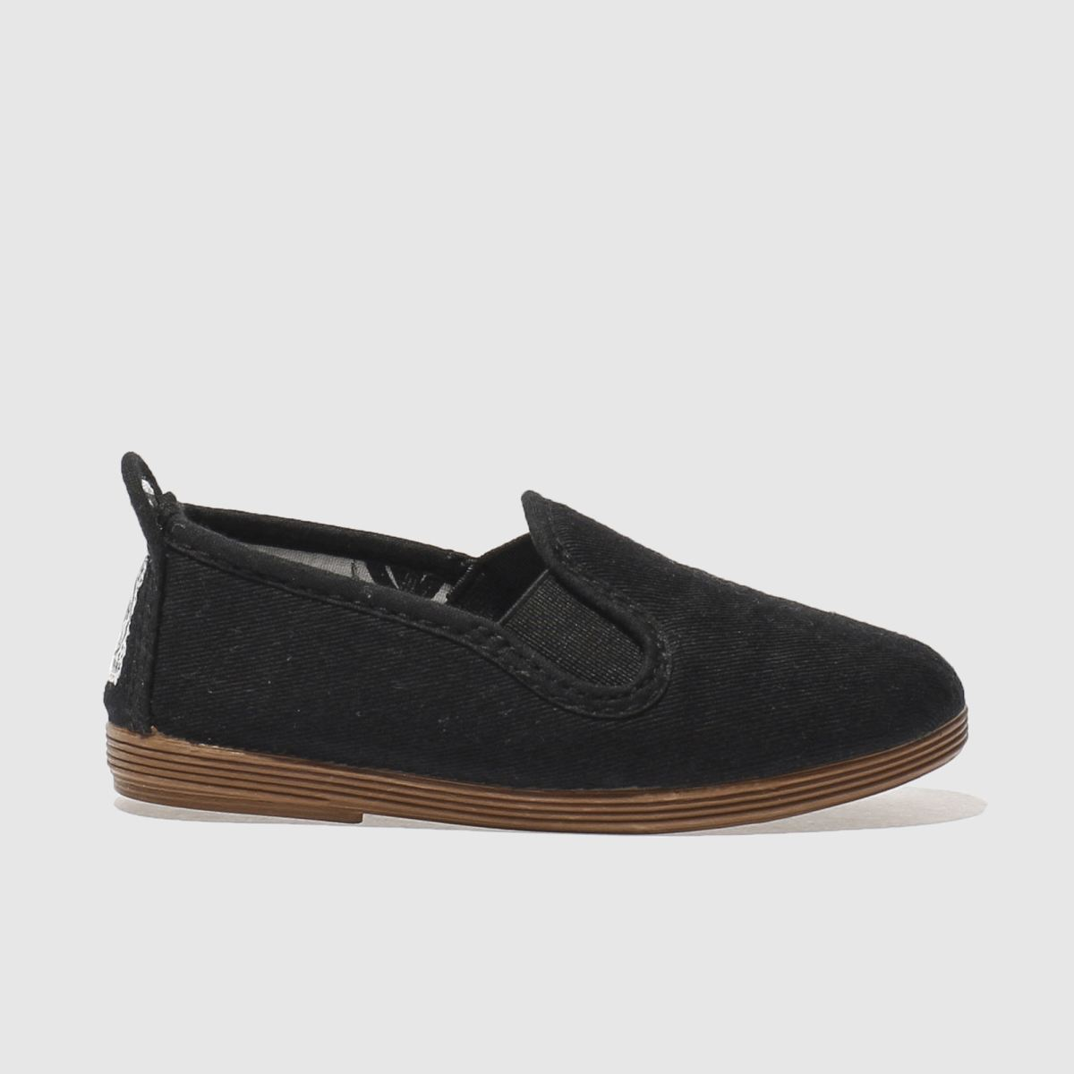 Flossy Flossy Black Pamplona Boys Toddler Shoes