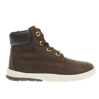 Timberland Brown Toddler Tracks Unisex Toddler