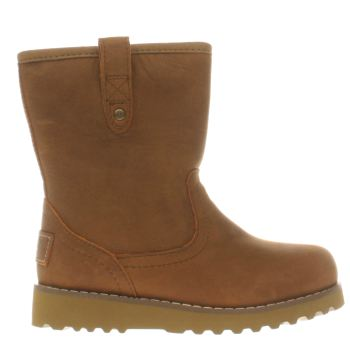 UGG TAN REDWOOD TODDLER BOOTS