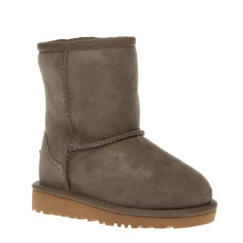Ugg Australia Light Grey Classic Unisex Toddler