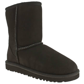 UGG BLACK CLASSIC BOYS TODDLER BOOTS