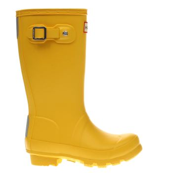 HUNTER YELLOW ORIGINAL KIDS TODDLER BOOTS
