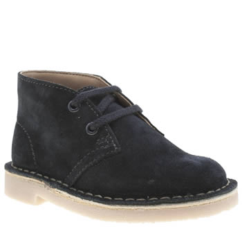 Clarks Originals Navy Desert Boot Unisex Toddler