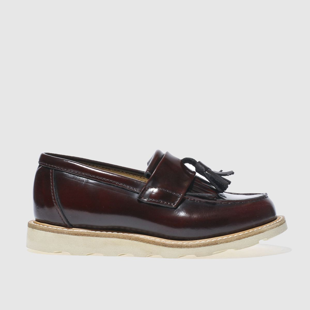 young soles Young Soles Burgundy Billy Junior Shoes