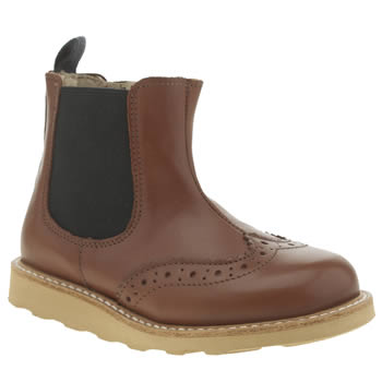 Young Soles Dark Brown Francis Chelsea Unisex Toddler