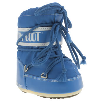 Moon Boot Blue Mini Unisex Toddler