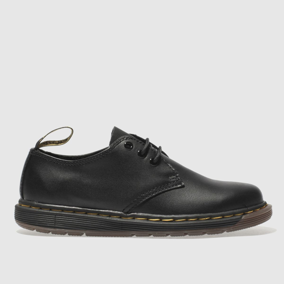 Dr Martens Black Cavendish Unisex Junior Junior