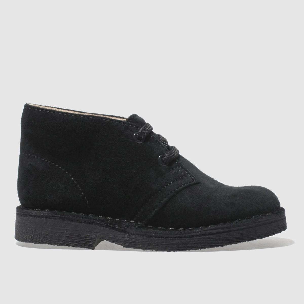 Clarks Originals Black Desert Boot Unisex Junior Junior