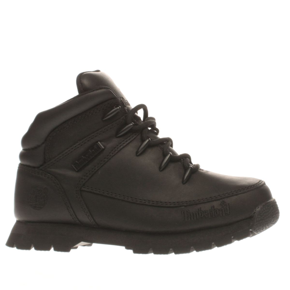timberland black euro sprint Junior Boots