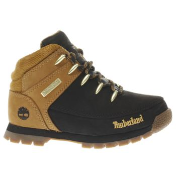 Timberland Black & Gold EUROSPRINT Unisex Junior