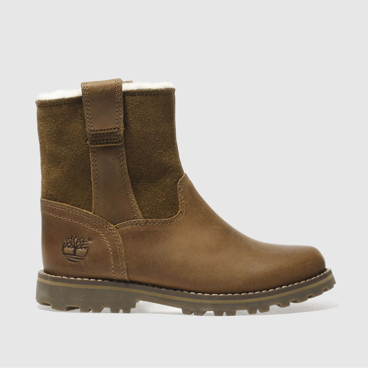 timberland brown asphalt trail Boys Junior Boots