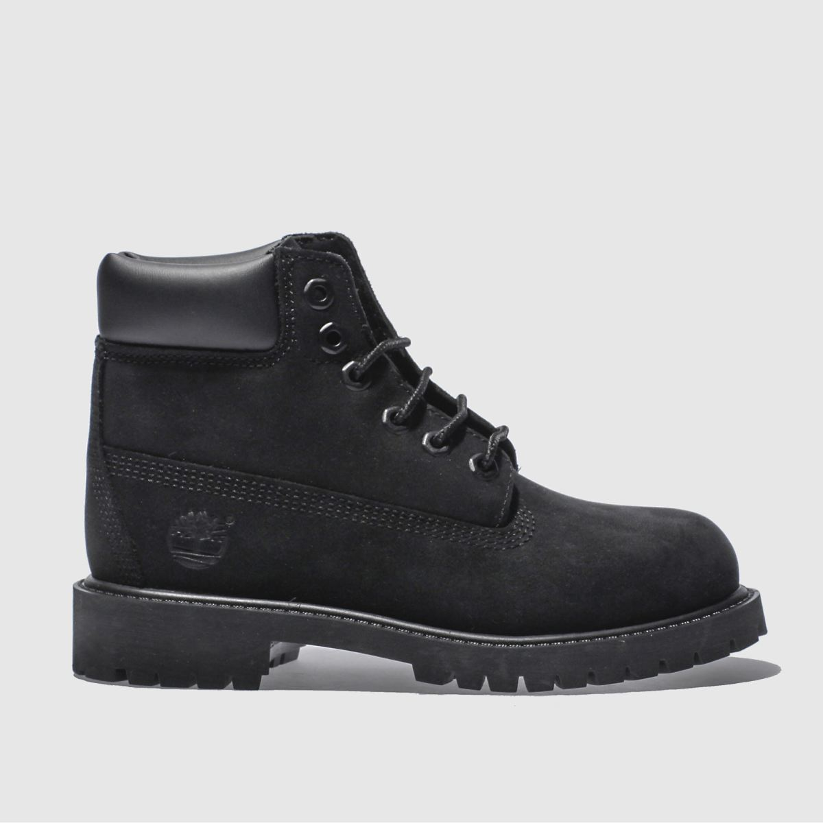 timberland black 6 inch premium Boys Junior Boots