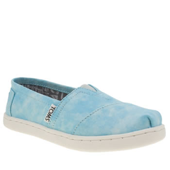 Toms Pale Blue Seasonal Classic Unisex Junior