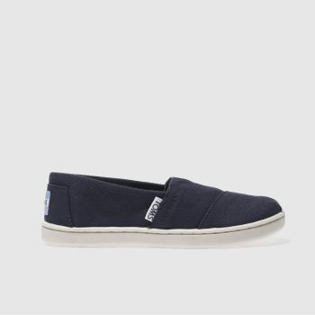 Toms Navy Classic Unisex Junior