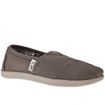 kids toms grey classic boots