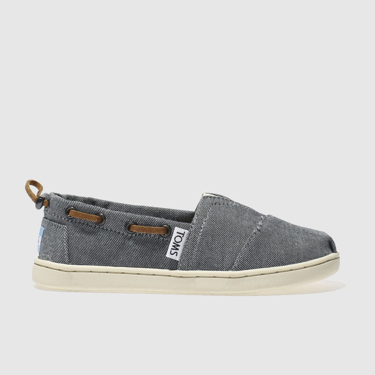 toms navy bimini Junior Shoes