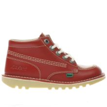 Kickers Red Kick Hi Unisex Junior