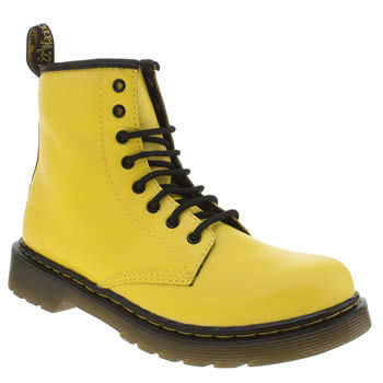 Dr Martens Yellow Delaney Boot Unisex Junior