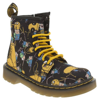 Dr Martens Multi Adventure Time Delaney Unisex Junior