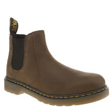 Dr Martens Dark Brown Banzai Chelsea Boot Unisex Junior