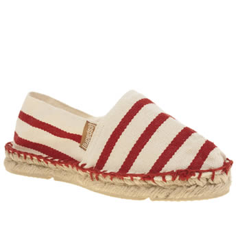 Espadrij White & Red Classic Unisex Junior